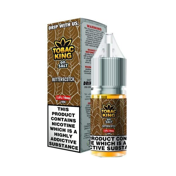 Drip More NIC SALT BUTTERSCOTH 20mg/10ml