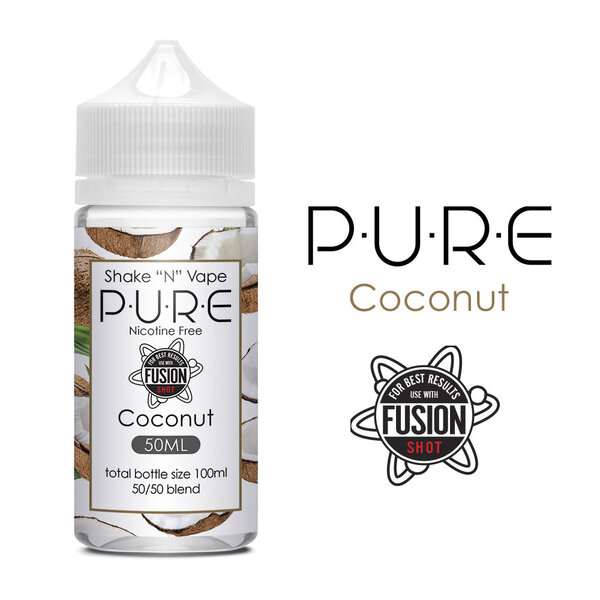 PURE Coconut Shake N Vape 50ml
