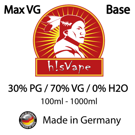 БАЗА hisVape VPG POWER 70/30% 0 mg 100ml