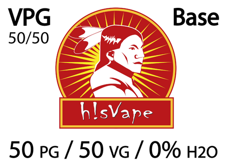 БАЗА hisVape VPG POWER 50/50% 6 mg (10 x 10 ml)