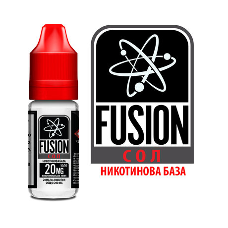 Никотинови соли BOX FUSION 20mg/10ml - 12бр