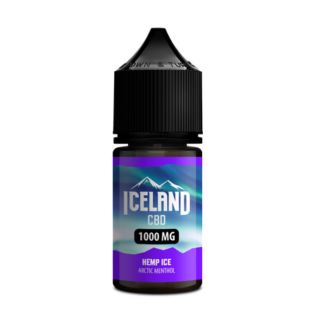 CBD Iceland Hemp Ice Isolate 30ml/1000mg