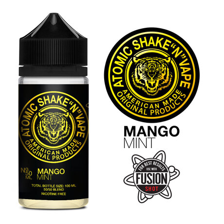 Atomic Mango Mint Shake N Vape 50ml
