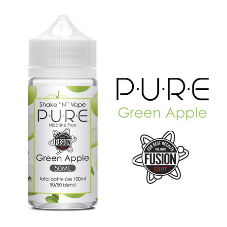 PURE Green Apple Shake N Vape 50ml