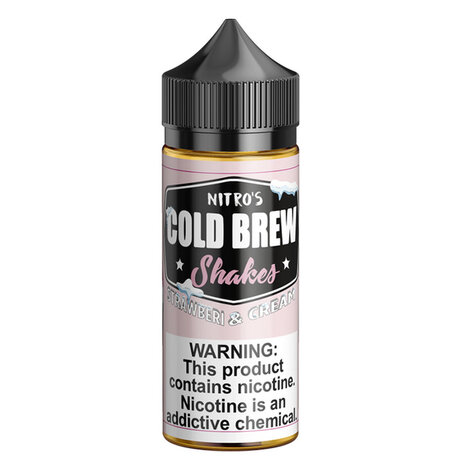Nitros Cold Brew STRAWBERRY AND CREAM 100ml