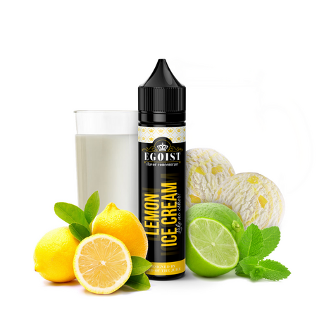 Egoist Lemon Ice Cream 40/60ml Shortfill